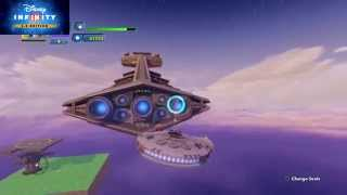 getlinkyoutube.com-Disney Infinity How To Get A Star Destroyer To Attack You - Part 1