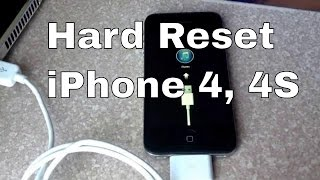 getlinkyoutube.com-How to Hard reset iPhone 4S through recovery mode
