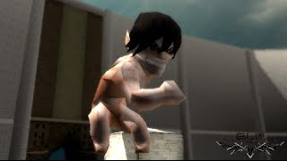 Shingeki No Kyojin/Attack On Titan Tribute Game - 11/10/2013 EREN TITAN!!!