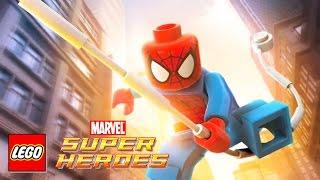getlinkyoutube.com-SPIDERMAN Cartoon Video Game | Spider Man Videos for Children | LEGO Marvel Super Heroes