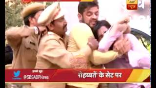 getlinkyoutube.com-Yeh Hai Mohabbatein: Raman Bhalla beats up Sohail publicly