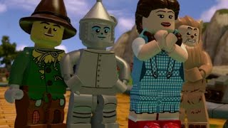 getlinkyoutube.com-LEGO Dimensions Walkthrough Part 2 - LEGO The Wizard of Oz