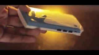getlinkyoutube.com-Ambrane P-1122 10,000mAh Powerbank Cinematic Unboxing!