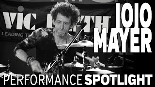 "getlinkyoutube.com-Jojo Mayer: London Drum Show 2013 - ""Loot"""