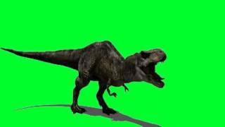 getlinkyoutube.com-HD 720p 3D Green Screen T-Rex