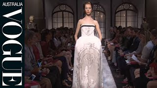 Watch the making of a Schiaparelli haute couture collection