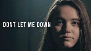 The Chainsmokers - Don't Let Me Down | Cover by BILLbilly01 ft. Vanessa