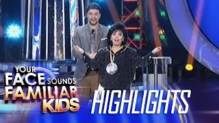 Your Face Sounds Familiar Kids: Elha Nympha as Sharon Cuneta - Winner of Week 2