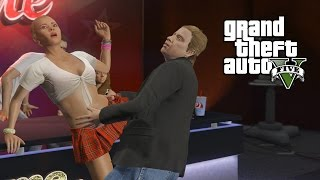 getlinkyoutube.com-Tracey Trying to Be on TV - Fame or Shame Mission GTA 5