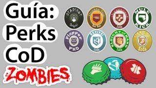 """getlinkyoutube.com-TODOS los """"perks"""" de CoD Zombies explicados. Guia Perks / Bebidas / """"Perk a cola"""" Cod Zombies"""