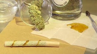 getlinkyoutube.com-How to Roll a Wax Joint (Twax Joint or Blunt): Cannabasics #24