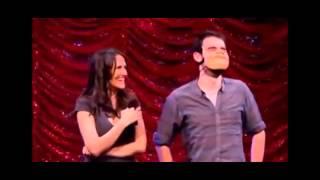 getlinkyoutube.com-Nina Conti - Human Puppet Won't Dance (Ventriloquist Mask)