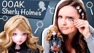 getlinkyoutube.com-Sherly Holmes OOAK (Шерли Холмс ООАК, дочь Шерлока Холмса)