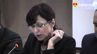 Elena Bacalu, Vicepreşedintele Raionului Cahul la lansarea naţională a proiectului NEXUS