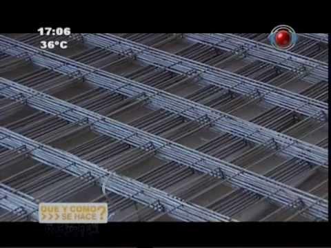 QUE Y COMO SE HACE? - Cómo se hacen las Varillas de Acero; Alambres de Púas, Tejido y Galvanizado.