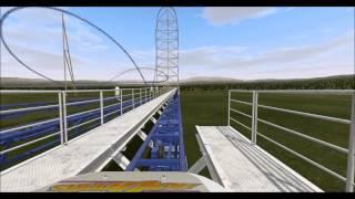 getlinkyoutube.com-[NoLimits Coaster 2] Scripted Intamin Accelerator Catch Car