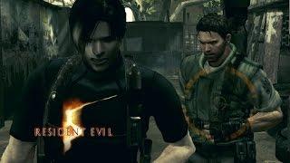 getlinkyoutube.com-Resident Evil 5 (PC)- Mod Evolution Leon e Chris