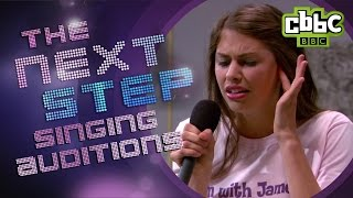 getlinkyoutube.com-Funny Singing Auditions - The Next Step on CBBC
