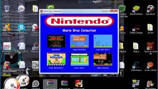 getlinkyoutube.com-Como descargar Coleccion de juegos de Mario bros 6 en 1 full pc [SasurtioGamer]