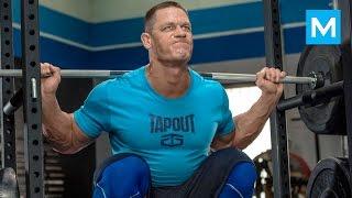 getlinkyoutube.com-John Cena Training for WWE | Muscle Madness
