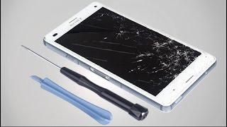 getlinkyoutube.com-How to replace Sony Xperia Z3 Compact LCD Screen? - Repair Tutorial