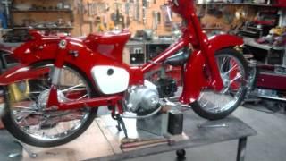 getlinkyoutube.com-Honda C50 Restoration 1971