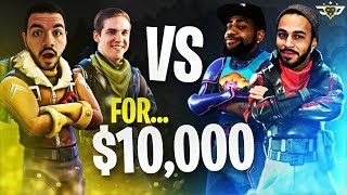$10,000 Fortnite Tournament! TSM Daequan & Hamlinz vs OpTic CouRage & TeePee
