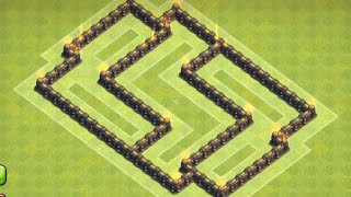 getlinkyoutube.com-Clash of Clans - Town hall 5 (TH5) Hybrid/Defense Base