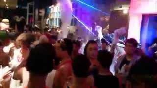 getlinkyoutube.com-DJ Station Songkran 2015 Evening Foam Party