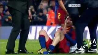 getlinkyoutube.com-Sergio Ramos vs messi : Hala MADRID
