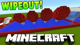 getlinkyoutube.com-Minecraft 1v1 TOTAL WIPEOUT RACE! (Obstacle Course & Parkour 1.9.4!)   with Preston & Landon
