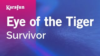 Karaoke Eye Of The Tiger   Survivor *