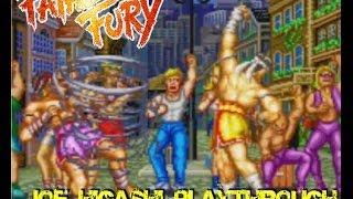getlinkyoutube.com-Fatal Fury: King Of Fighters (Arcade) - Joe Higashi's Playthrough