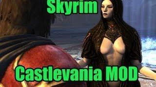 getlinkyoutube.com-Skyrim Mods - Castlevania Fortress (gigantic)