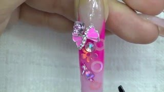 getlinkyoutube.com-Chit Chat : Pink Nail Art