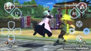 getlinkyoutube.com-Naruto Shippuden Ultimate Ninja Storm 4 Gameplay Android