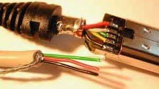getlinkyoutube.com-طريقة تحويل كيبل LAN الى كيبل USB