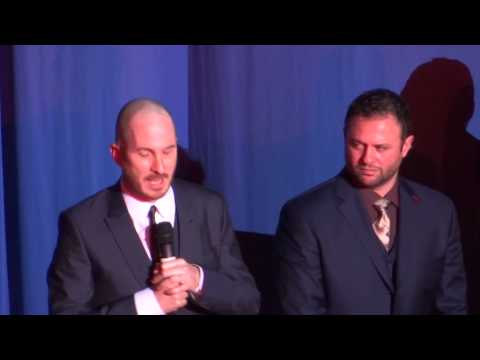 darren aronofsky introduces Noah at London Premiere