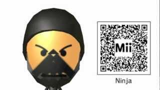 getlinkyoutube.com-Mii QR Codes Pack 9 — They're Back!
