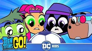 Teen Titans Go! |Sports Day! | DC Kids