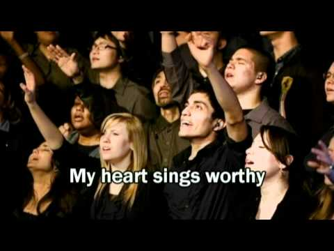Christ for the Nations - My Heart Sings Worthy (with lyrics) (2011 Best Worship Song with tears 24)