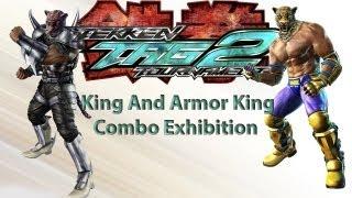 getlinkyoutube.com-TEKKEN TAG 2 - King And Armor King Combo Video