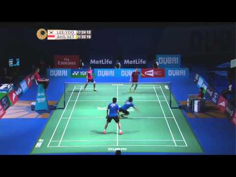 Most insane badminton rally for 2016