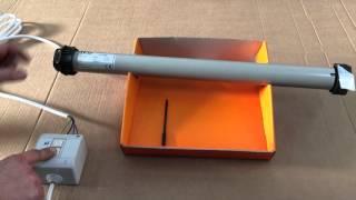 getlinkyoutube.com-Atecnica come regolare i finecorsa sul motore tubolare per tapparella