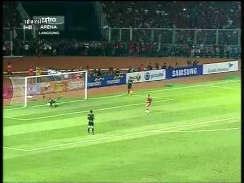 [SeaGames2011] BOLA SEPAK - Malaysia vs Indonesia - Pusingan Penalti. 21/11/2011