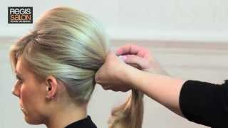 getlinkyoutube.com-Create a Bardot Wedding Ponytail - Hair Tutorial Video