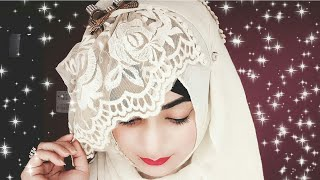 Barbie Inspired Hijab Tutorial Ft. Dubai Abayah store