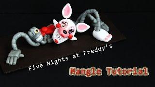 getlinkyoutube.com-Five Nights at Freddy's 2 Mangle Polymer Clay Tutorial