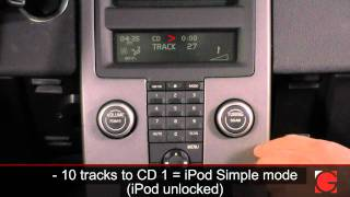 getlinkyoutube.com-GROM-MST3 Volvo S40 2008 iPod Android USB Bluetooth Usage