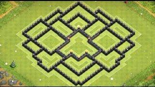 getlinkyoutube.com-Aldea de Ayuntamiento 9 | Mejor aldea para subida de copas/guerra | Nuevo 2015